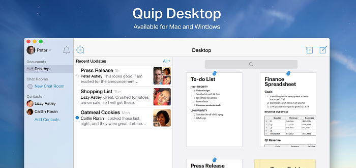 Quip Featured
