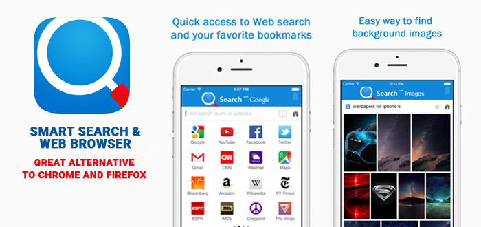 smart search & web browser feat