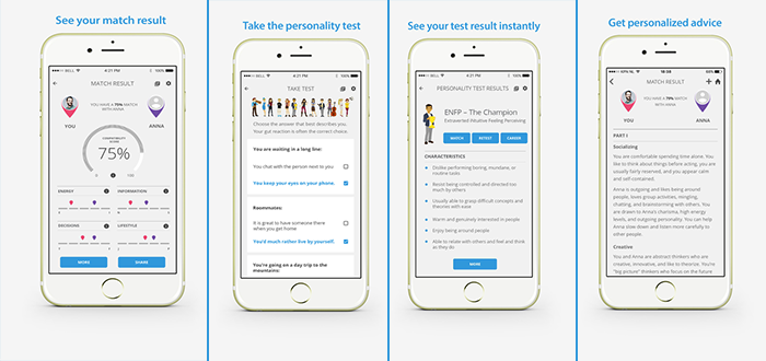 Personality Match – Personality Test App Review
